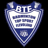 Badminton Topsport Flevoland logo